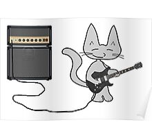 Rock 'n Roll Kitty  Poster