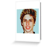 Lucas Vercetti Pullover- Multi Color Greeting Card