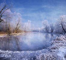 Blue Lake by Philippe Sainte-Laudy