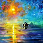 Misty Calm — Buy Now Link - www.etsy.com/listing/226240394 by Leonid  Afremov