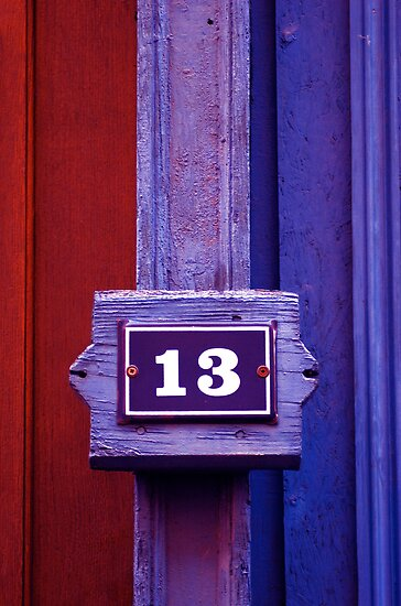 N°13 door by Etienne RUGGERI Artwork eRAW