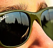 Green Ray Bans by emilywence