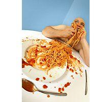 spaghetti good Photographic Print