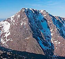 Ben Nevis North Face,  from Carn Mor Dearg by fineartphotos
