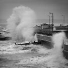 Storm at Aberaeron by Jeremy Owen