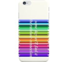 The Rainbow Connection iPhone Case/Skin