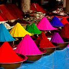 Colourful tikka powder by Tamara Travers