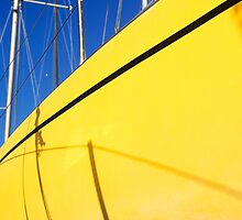 Boatyard yellow by WebVivant