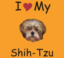 I *heart* My Shih-Tzu T-shirt (from Lost!) by w1ckerman