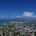 Townsville from Castle Hill by Paul Gilbert