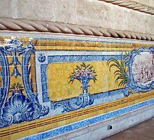 Lisboa, Mosteiro dos Jeronimos, Refectorio - Azulejos by presbi