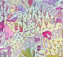 Garden Kids by sarlisart