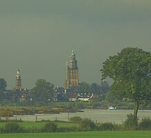 dutch city Zutphen by dutchlandscape