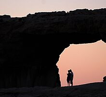 Azure Window in Gozo by narabia