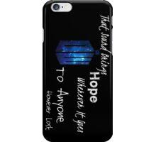 That Sound Brings Hope iPhone Case/Skin