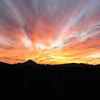 Sunrise over the Hachita Mountains by Paul Magnanti