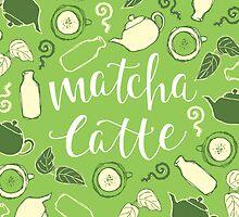 Matcha Latte by pietowel