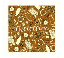 Chococcino Art Print