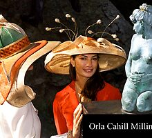 Millinery by Orla Cahill by Orla Cahill