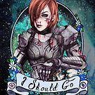 I Should Go (color) by marlene freimanis