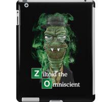 Ziltoid as Heisenberg - Black iPad Case/Skin
