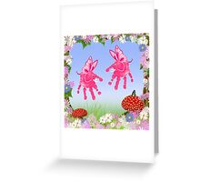 Fairy Elephant Critters Greeting Card