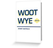 Woot & Wye Sydney Australia Greeting Card