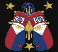 Peoples Champ Pac Man Boxing Gloves by EthosWear