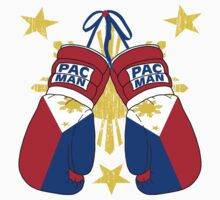Peoples Champ Pac Man Boxing Gloves Kids Clothes