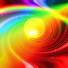 Space Rainbow by Visual   Inspirations