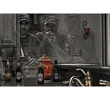 Drinks For Three Photographic Print
