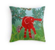 Rainforest Critter Throw Pillow