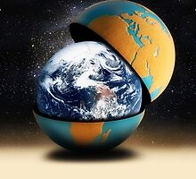 Earth by Gravityx9