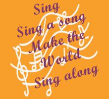 Sing Sing along, Make the World Sing along by Sharon Robertson