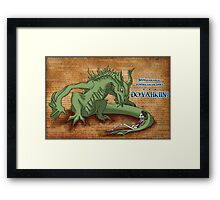 Paarthy's Endless Dialogue Framed Print