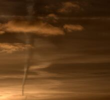 Sunset Pseudo Tornado by Anima Fotografie