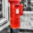 Pillar Box-Stamp Machine by Catherine Hamilton-Veal  ©