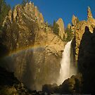 Tower Falls, Yellowstone National Park, Wyoming by Albert Dickson