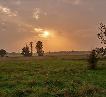 Sunset in Lower Saxony by Hilthart Pedersen