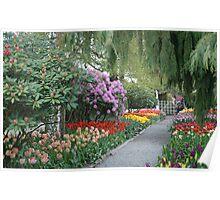 Beautiful Spring Garden Poster