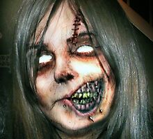 Zombie Girl by yvonne willemsen