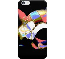 abstract carnival mask iPhone Case/Skin