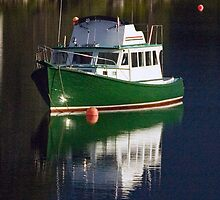 Hubbards Calm reflection before the storm by Roxane Bay