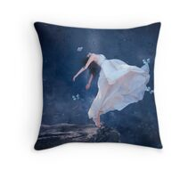 Hope To God I Can Fly... Throw Pillow