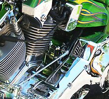Motorcycle Insides by Julia Washburn