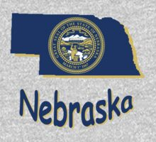 nebraska state flag by peteroxcliffe