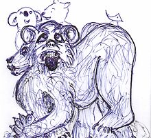 A Sort of Bear by Peter Searle ( the Elder )