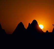 Pinnacles Sunset by Jan Fijolek