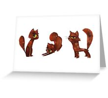 Kit Cats Greeting Card