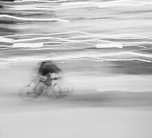 Delivery Man BW by Judith Oppenheimer